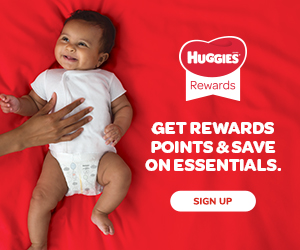 Earn Points with Huggies Rewards Program (+ Exclusive Coupons!)