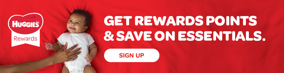 Rewards and Coupons from Huggies®