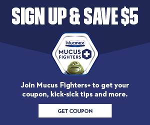 Mucinex Savings