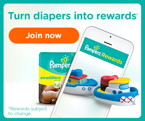 Join Pampers Rewards program and turn diapers into rewards and savings.