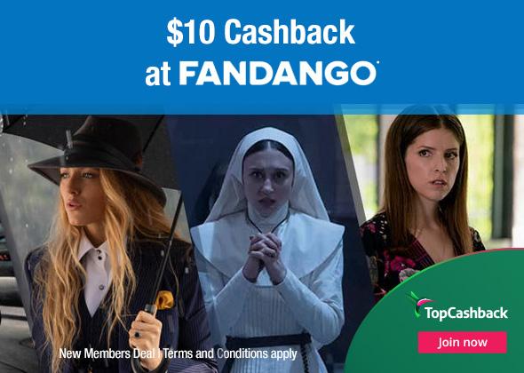 $10 off at Fandango