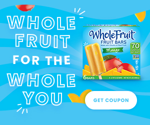 Print coupon for $1.00 OFF any variety of Whole Fruit Bars.